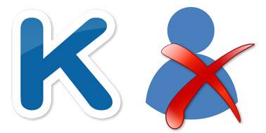 Картинка удаления профиля ВКонтакте
