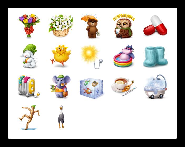 Пример списка подарков ВКонтакте