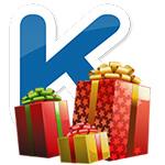 Как отправить подарок в Kate Mobile